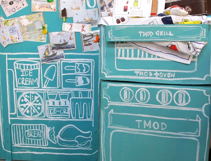 Chalkboard Kitchen Stall At Finders Keepers