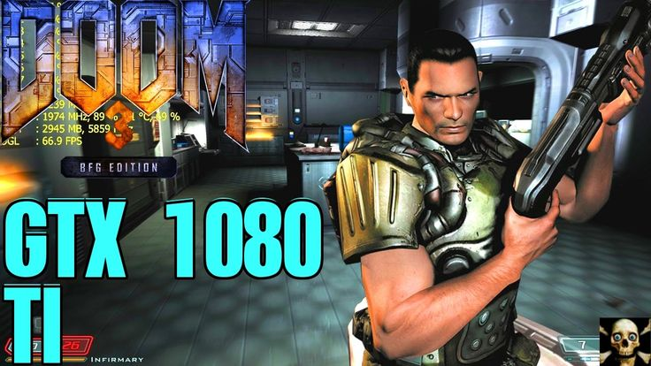 DOOM 3 BFG 4K UltraHD Gtx 1080 Ti Frame Performance 5960X