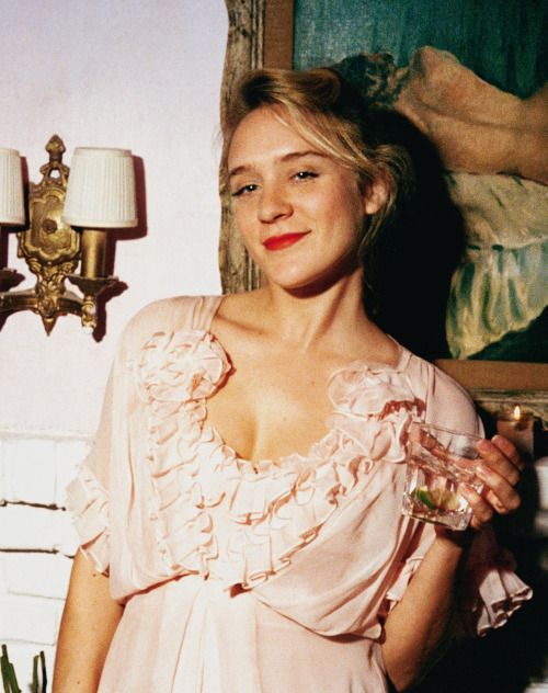 Chloë Sevigny photographed by Alexis Dahan at her birthday party at the Beatrice Inn, 2007