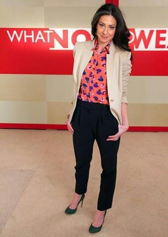Very cute! Love the outfits Stacy London wears.