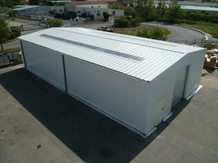 Bâtiment industriel démontable par Legoupil Industrie. #Location 31 mois  #entrepôt de #stockage #démontable, 300m². http://www.legoupil-industrie.com