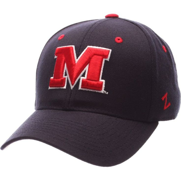 Zephyr Men's Ole Miss Rebels Blue DH Fitted Hat, Team