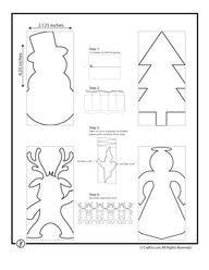 Come realizzare festoni natalizi con la carta: renne, pupazzo di neve e molto altro!Pronti per voi!