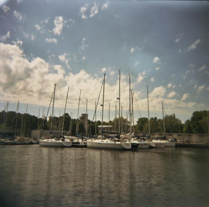 Paadid, Kodak VC 120mm, Tallin Estonia, June 2011,#Photography by #Ian #Iott