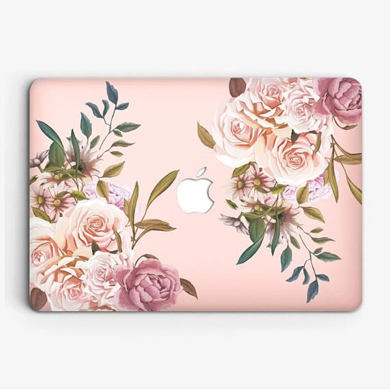 Floral Macbook Case Macbook Pro 15 Inch Case Macbook Air Apple