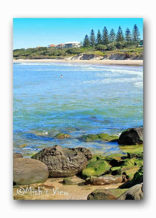 Where I live, Pippi Beach, Yamba  Pic by Mish's View (facebook)