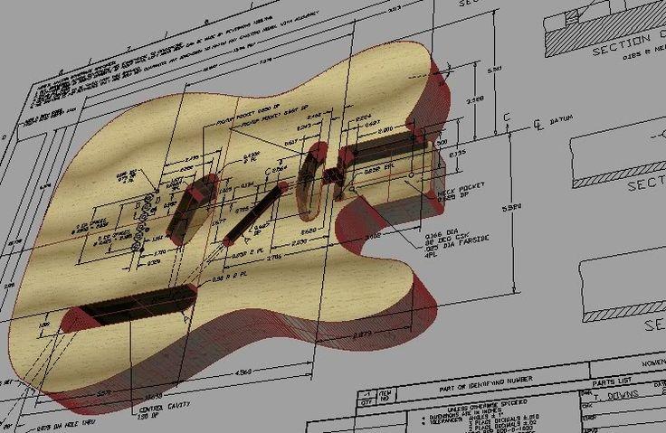 Printable guitar template PDF? | Guitar building, Guitar ...