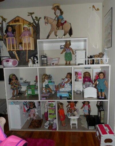 Diy american girl dollhouse  Follow my dolls house ideas on pinterest for  more inspiration. 955 best American girl images on Pinterest   Ag dolls  American
