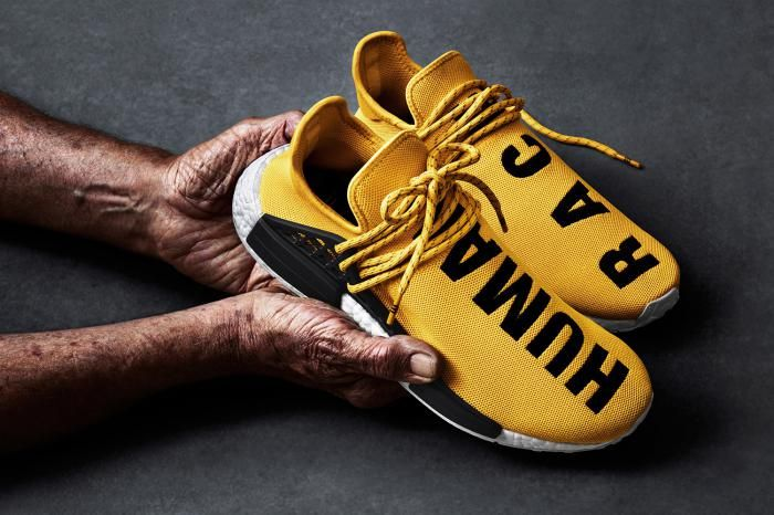 Adidas et Pharell Williams nous offrent une version inédite de la NMD: Human Race  #streetchic #sneakers #collabboration #pharellwilliams #adidas