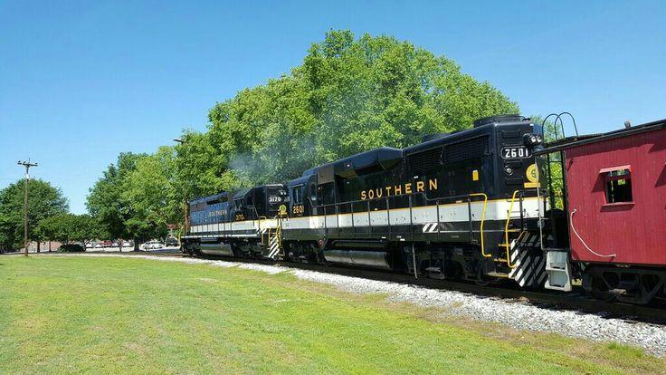 North Carolina Transportation Museum Norfolk southern
