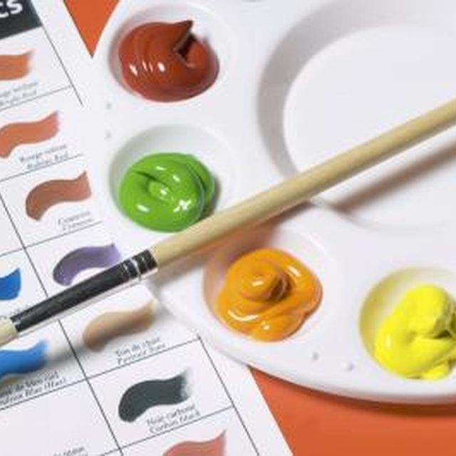 Types of seal varnish to finish a canvas with acrylic for Types of acrylic paint