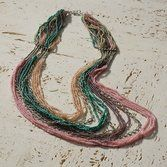 Splashy Multi-strand Necklace