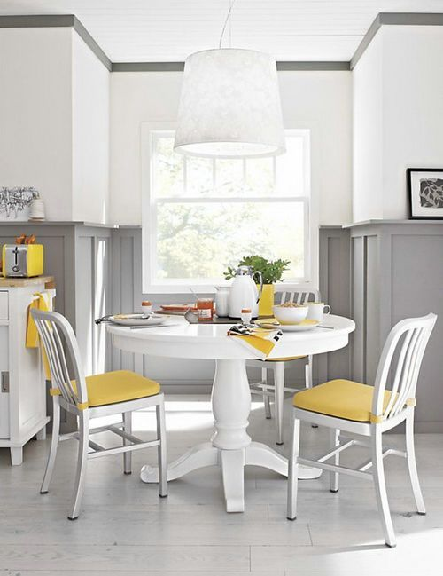 White Round Dinning Tables
