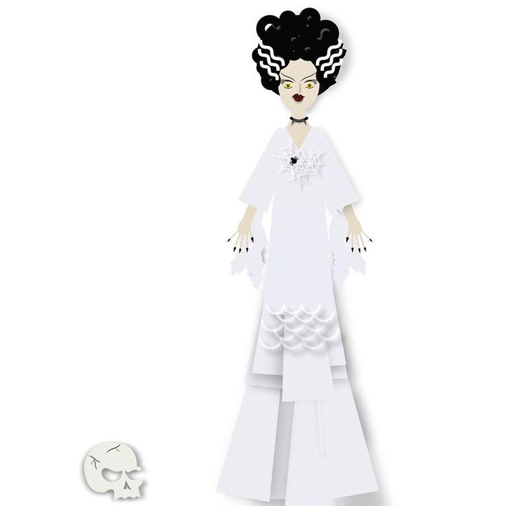 Smexy! #brideoffrankenstein # --- made with #assemblyapp , #pixiteapps , wish Instagram had a better resolution upload, her facial features look blurry #bestvector