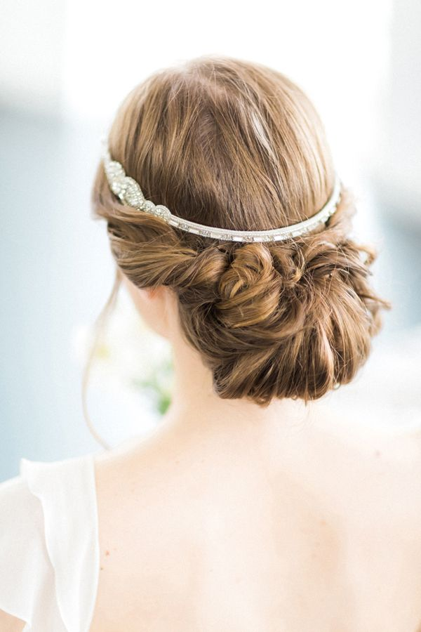 Lovely wedding hair by Laura Anne | photo by Sanshine Photography | Fine Art Wedding Photographer London and Destination