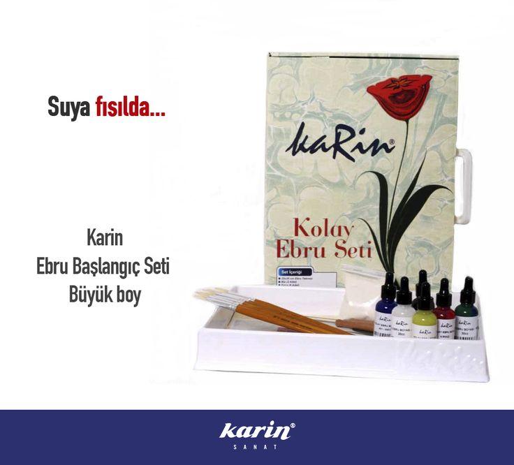 Suya fısılda... http://www.karinsanat.com/ebru-baslangic-seti-buyuk  #ebruseti #ebru #marbling #fineart #art #artwork #artist #sanat #karinsanat