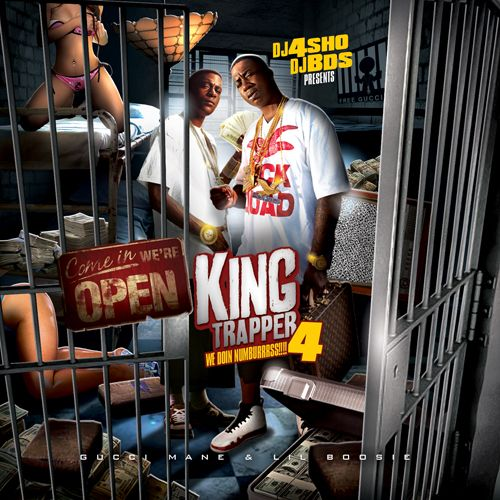 Lil Boosie & Guccie Mane - King Trapper Vol. 4
