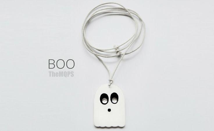 * Boo * 100% handmade & original necklace. Zapraszam do oglądania, komentowania i... zamawiania: themqps.blogspot.com