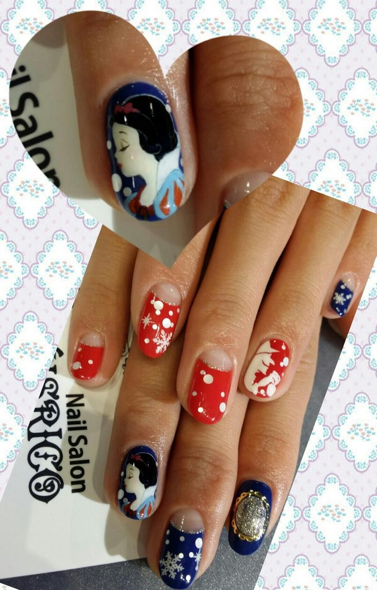 147 best Character nails images on Pinterest | Make up looks, Nail ...
