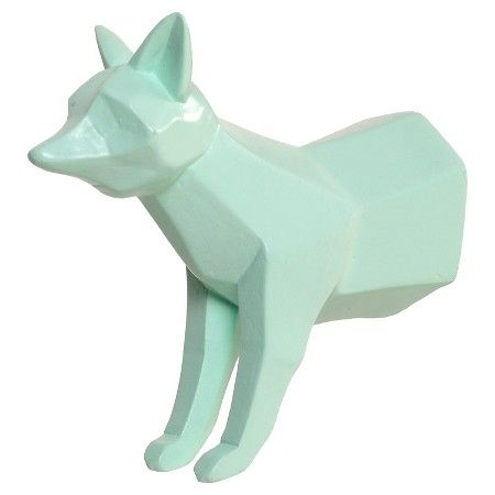 Circo Fox Wood Wall Hook - Bleached Aqua : Target