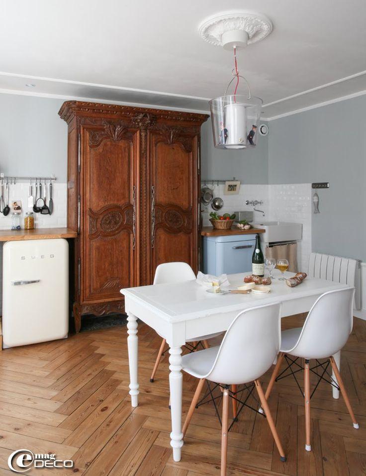 les 9 meilleures images du tableau d co maisons normandes sur pinterest maison normande. Black Bedroom Furniture Sets. Home Design Ideas