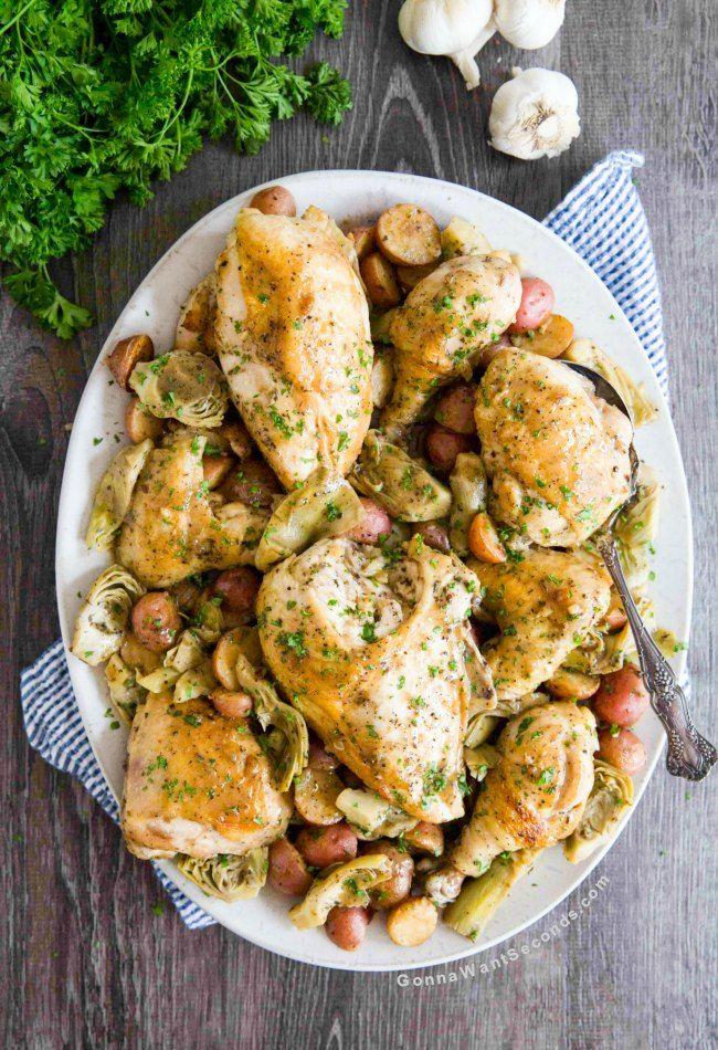 Chicken Vesuvio Recipe Chicken Vesuvio Chicken Vesuvio Recipe Chicken Recipes