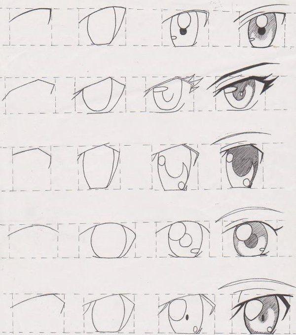 Manga Tutorial Female Eyes 01 by FutagoFude-2insROID.deviantart.com on @DeviantArt