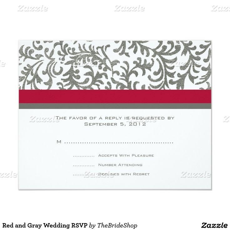 67 best wedding invitations images on pinterest red rose wedding