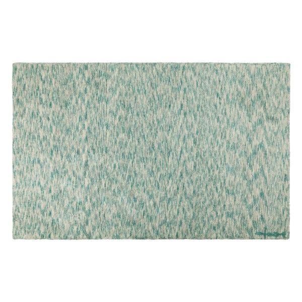 Machine washable children's rug mix emerald green children's rug. We love this neutral shade.