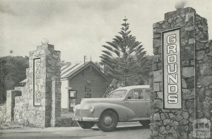 Camping grounds, Warrnambool, c1960