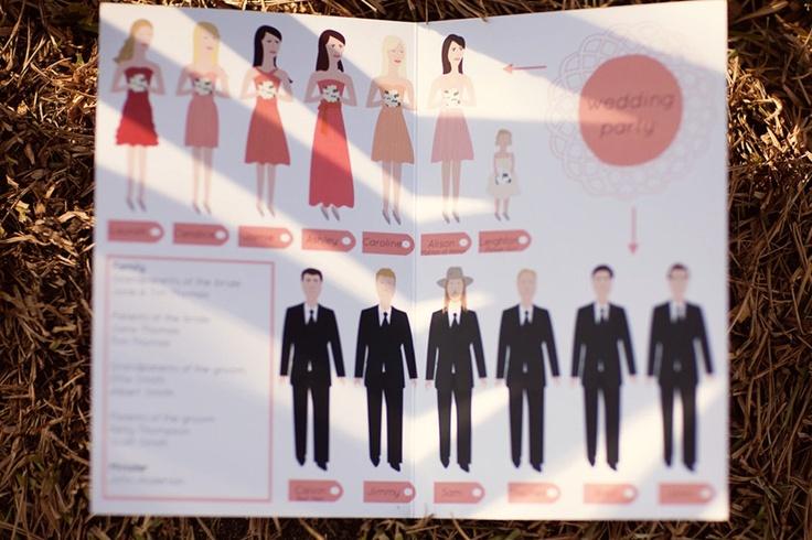 Unique Wedding Reception Program Ideas: 150 Best Images About Wedding Programs On Pinterest