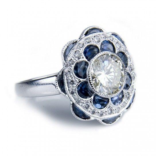 Anelli di fidanzamento con brillanti e pietre preziose