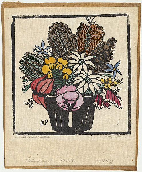 Margaret Preston - mixed flowers1