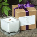 Violet-Lime-Cube-Candle