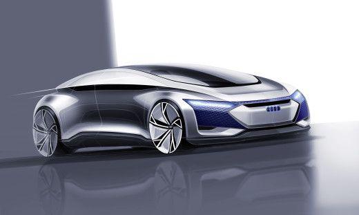 Audi привезла воФранкфурт концепт электрического беспилотника класса «люкс» - Автошоу - Cardesign.ru