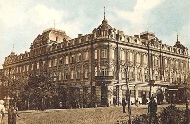 Hotelul Lafayette, Calea Victoriei, Bucuresti