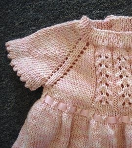 Baby Dress knitting-ideas