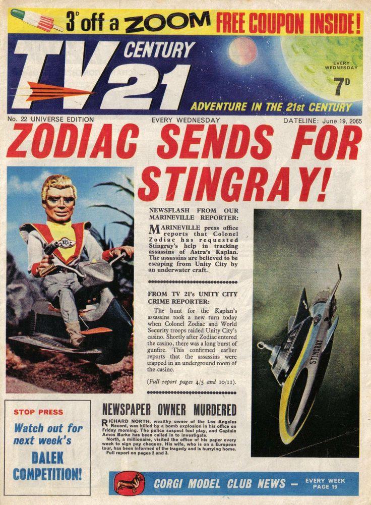 TV Century 21 issue number 22