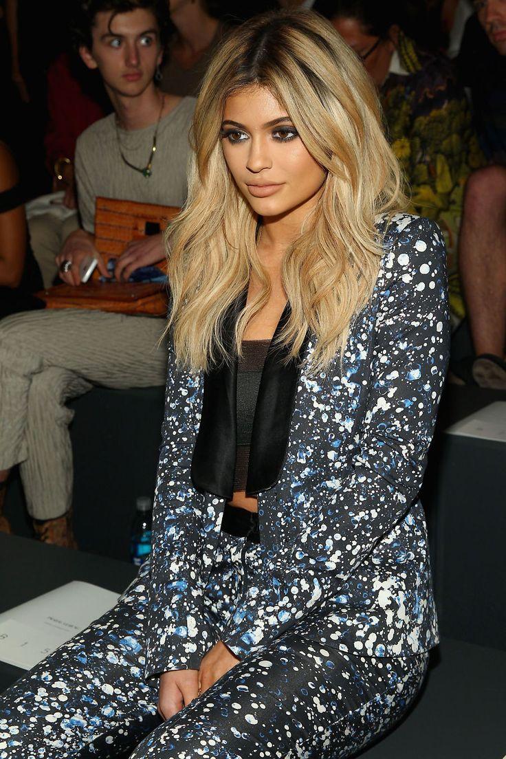 Kylie Jenner stjal oppmerksomheten på moteshow