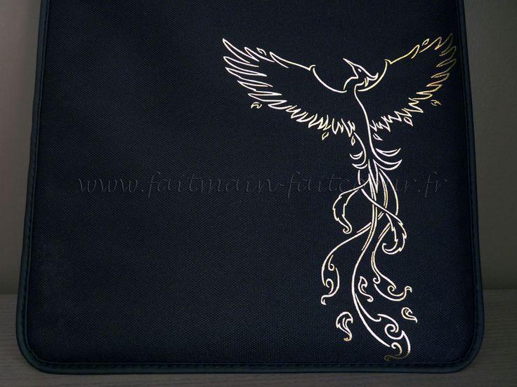 Sticker flex phoenix (Phoenix flex decal)
