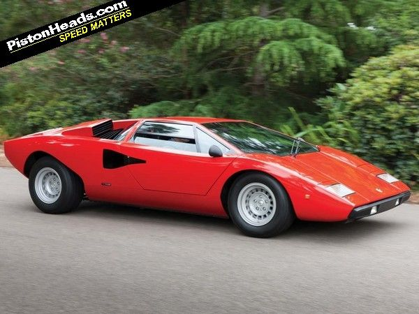 Valentino Balboni And The Countach: Time For Tea?