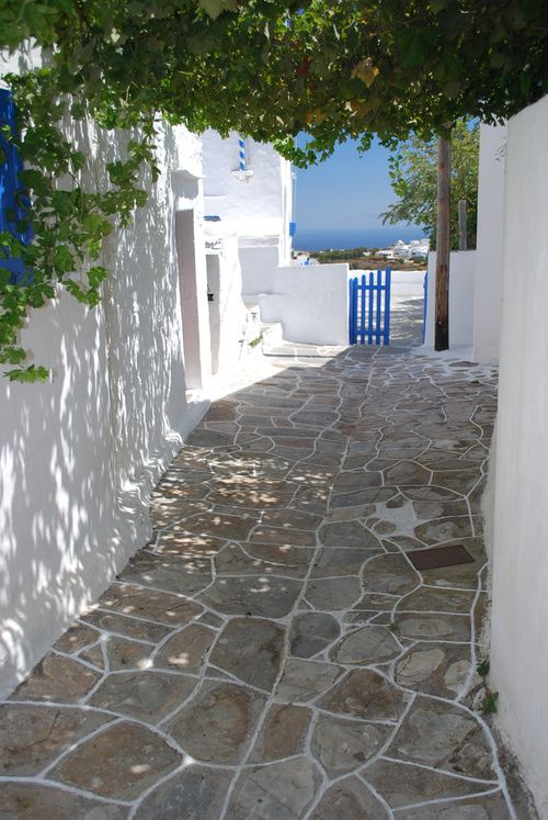 Alley in Apollonia, Sifnos