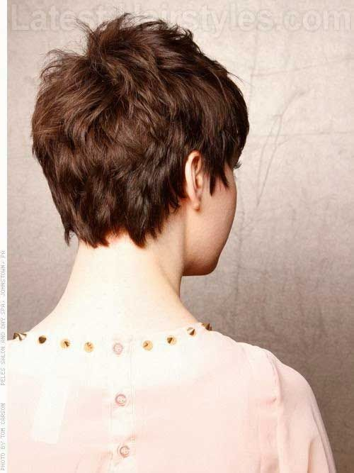 pixie haircut back view pictures layered pixie back view pixie cuts 5742