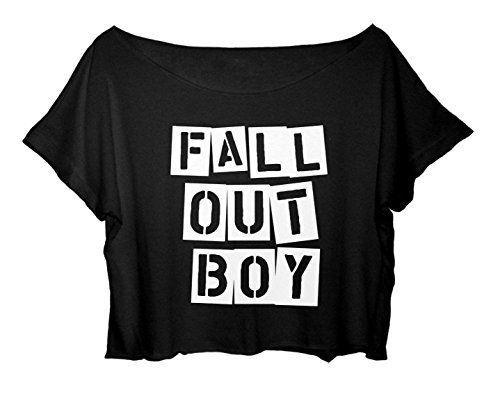 Women's Crop Top Fall Out Boy Shirt Centuries Song Shirt Concert New Year T-Shirt