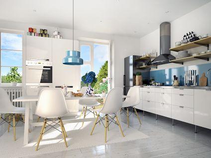 Our chairs Biagio in kitchen arrangament.   Nasze krzesła Biagio w aranżacji kuchennej.   http://meblownia.pl/product/search?query=Krzes%C5%82o+Biagio