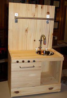 Diy Wooden Play Kitchen 14 best play kitchen images on pinterest   play kitchens, kid