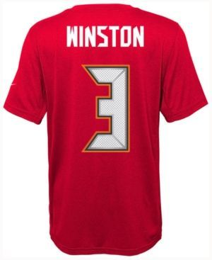 5 jameis nike jameis winston tampa bay buccaneers pride player t shirt big boys (8 factory outlet fl
