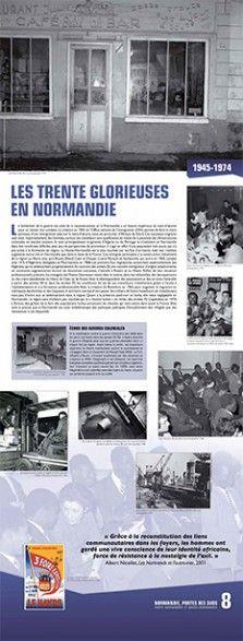 N°8 : Les Trente glorieuses en Normandie (1945-1974). Le lendemain de la guerre est celui de la reconstruction, or la Normandie a un besoin impérieux de main-d'œuvre pour se relever des combats. La création en 1945 de l'Office national de l'immigration (ONI) permet de faire le choix politique d'une immigration axée sur la main-d'oeuvre, issue en particulier d'Afrique du Nord... © Groupe de recherche Achac