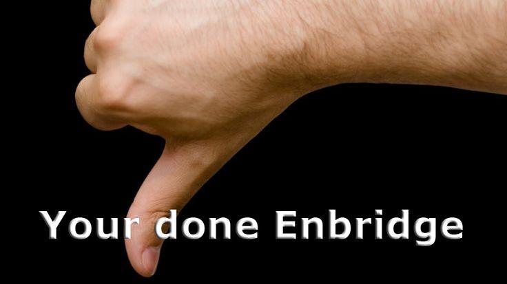 Your done Enbridge: Kitimat votes NO