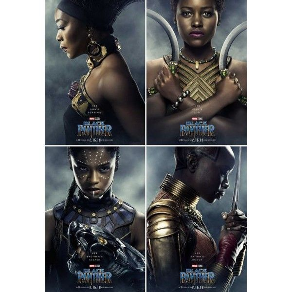 I love that they made more posters with the kickass women than T'Challa like okay we know you're cool moving on